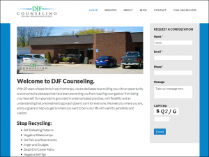 DJF Counseling Launches New Website